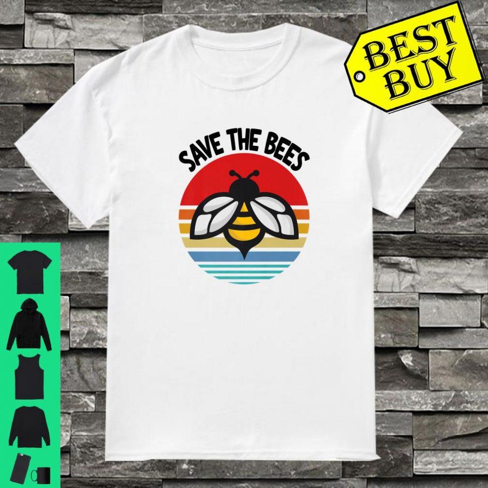 Save The Bees Shirt Earth Day Environmental Activist Shirt