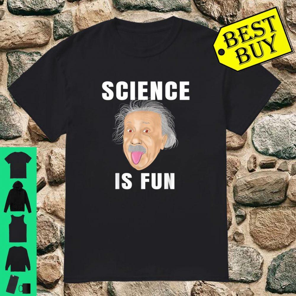 Science Is Fun Einstein Mathematics Physics Math shirt