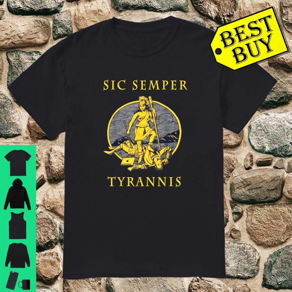 Sic Semper Tyrannis und Governor Northam Shirt