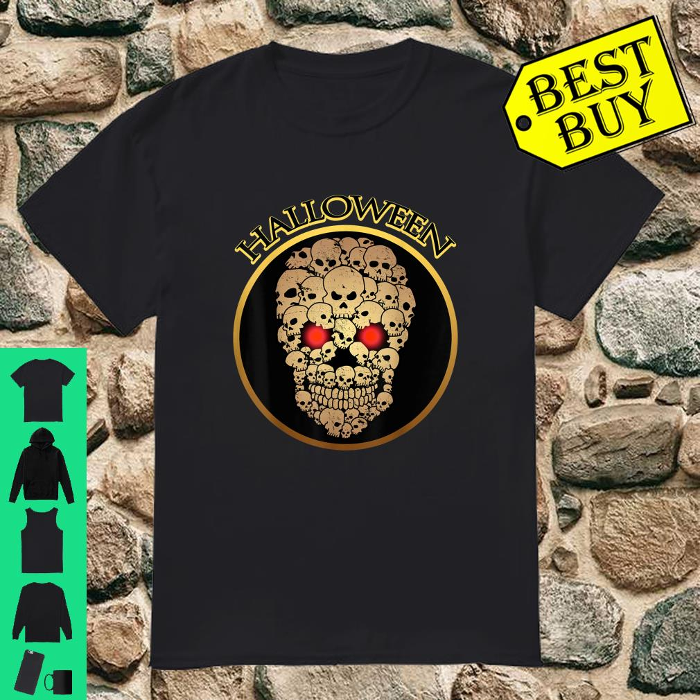 Skull Skeleton Zombie Horror Scary Halloween shirt