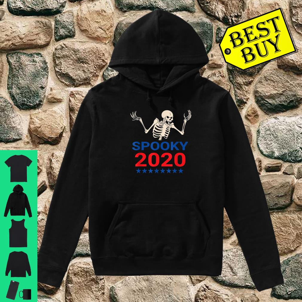 Spooky Scary Skeleton For Pressident 2020 Election shirt hoodie