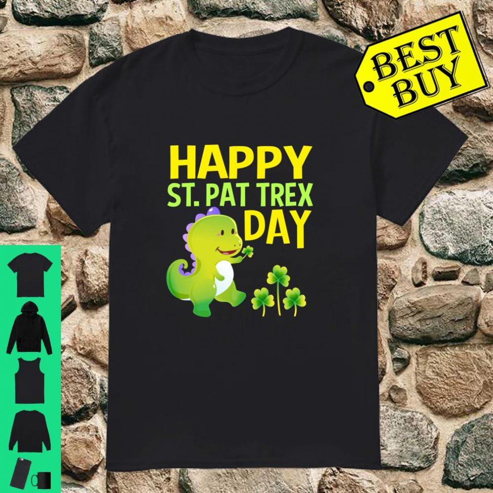 St Patricks Day Rex Dinosaur Shirt
