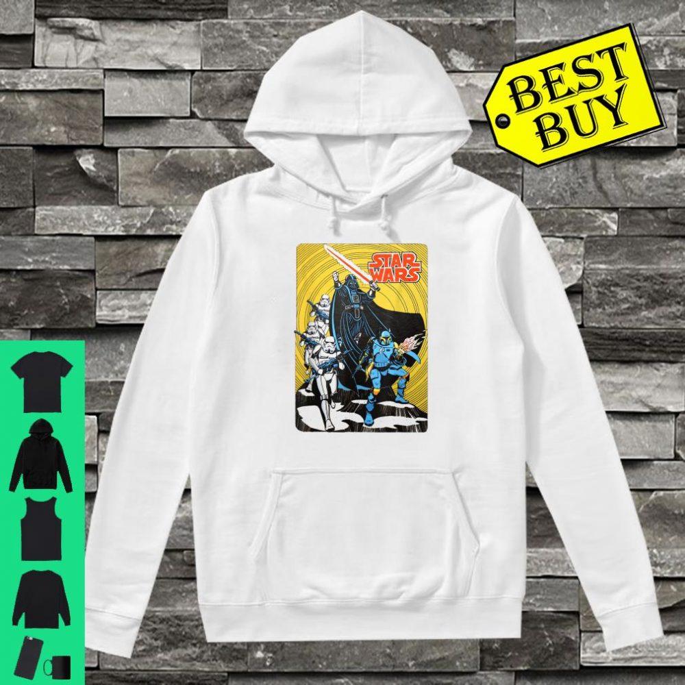 Star Wars Vintage Group Shot Poster shirt hoodie