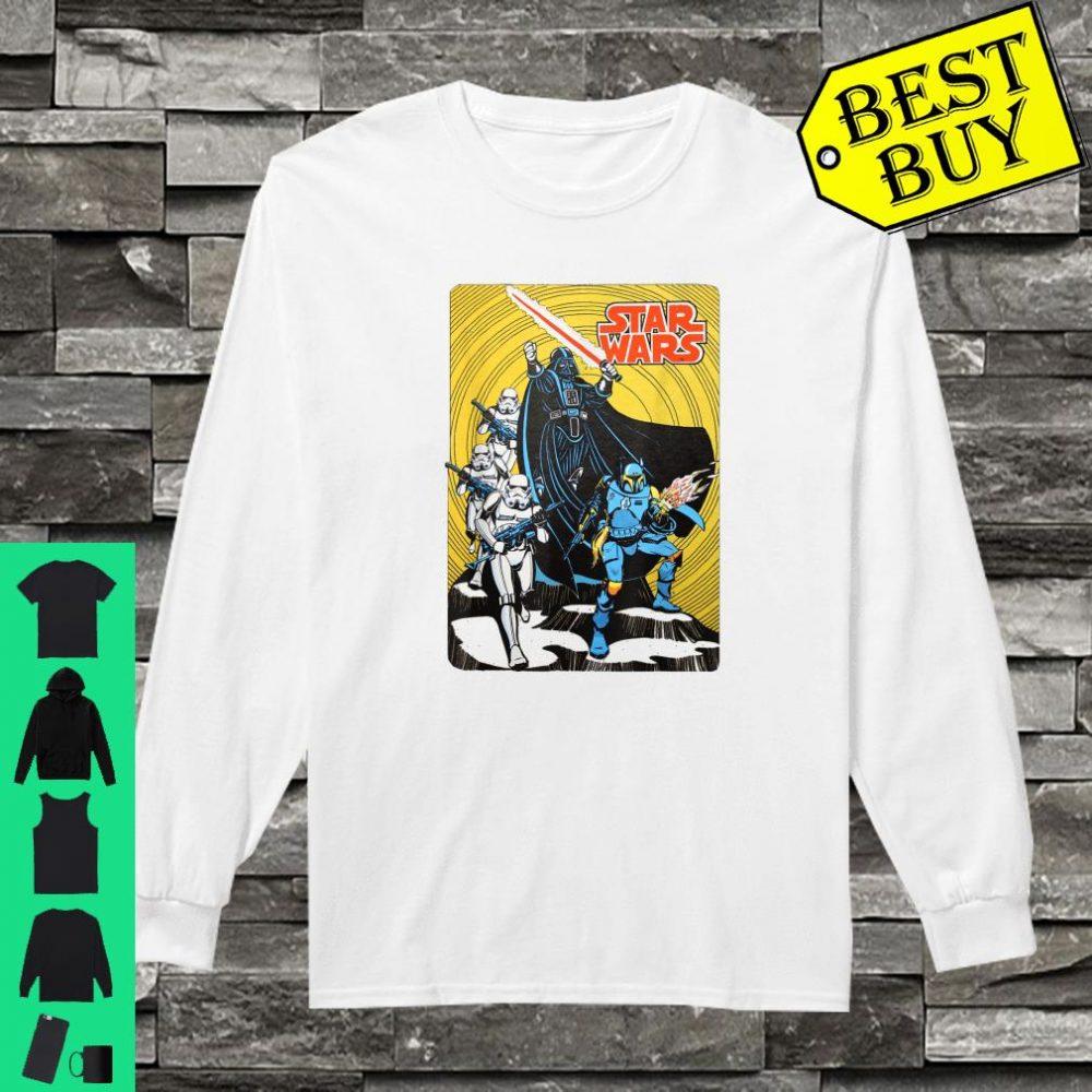 Star Wars Vintage Group Shot Poster shirt long sleeved