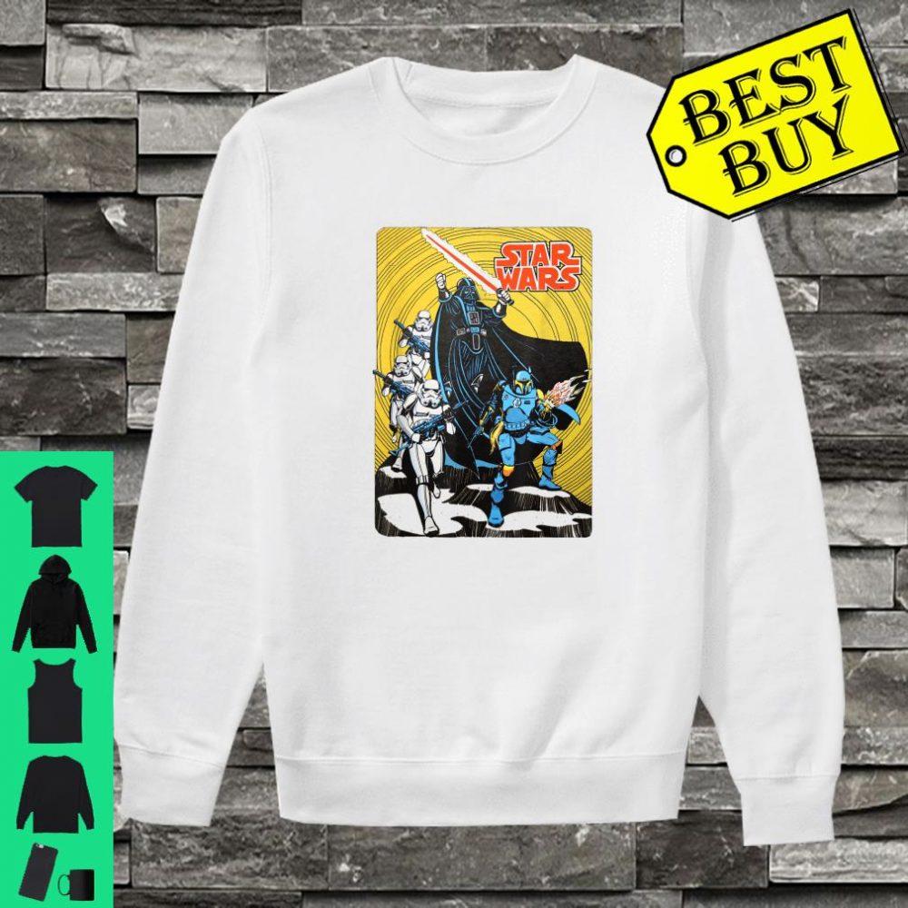Star Wars Vintage Group Shot Poster shirt sweater