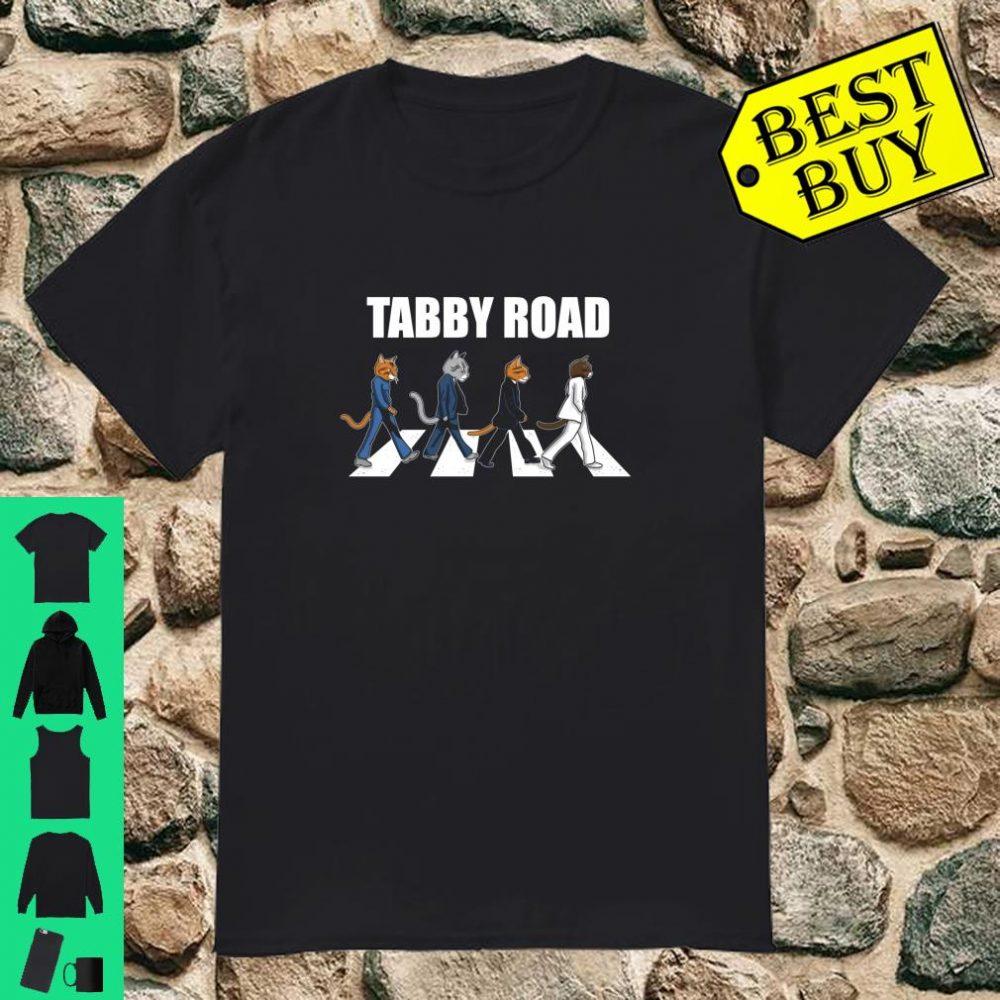 Tabby Road Cats Cool Cat Shirt
