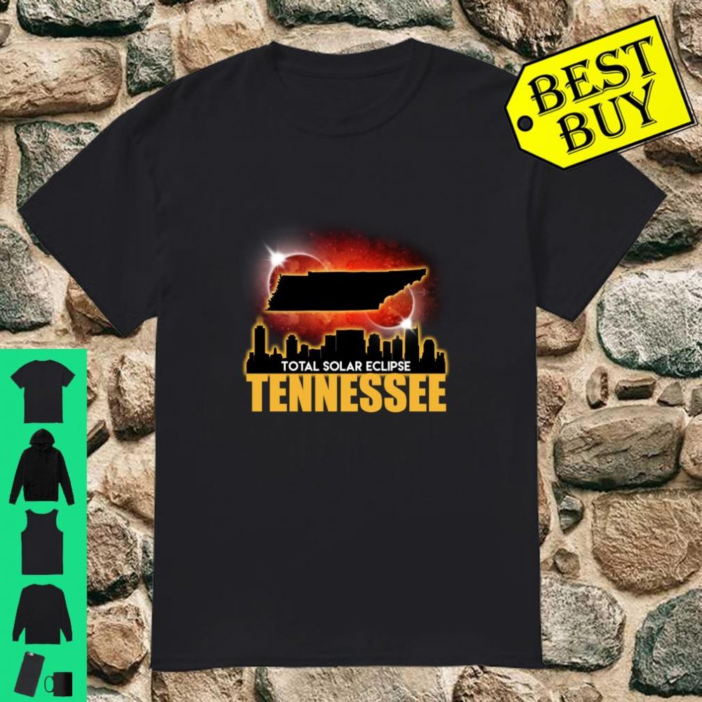 Total Solar Eclipse Tennessee shirt