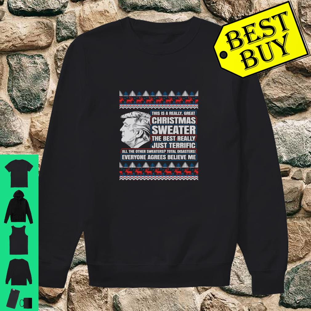 Trump Christmas Sweater.Trump Ugly Christmas Sweater The Best Really Just Terrific Shirt
