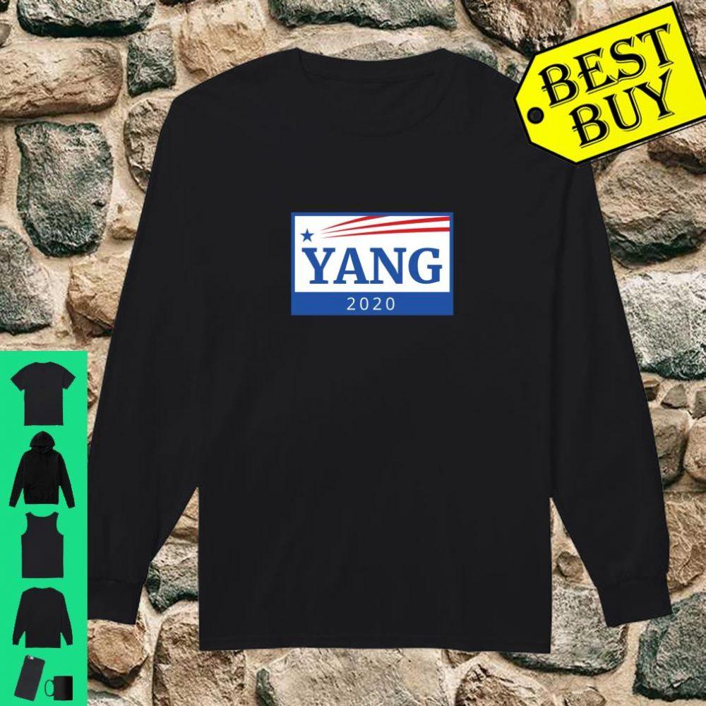 Universal Basic Income Andrew Yang 2020 President Robots UBI Shirt long sleeved