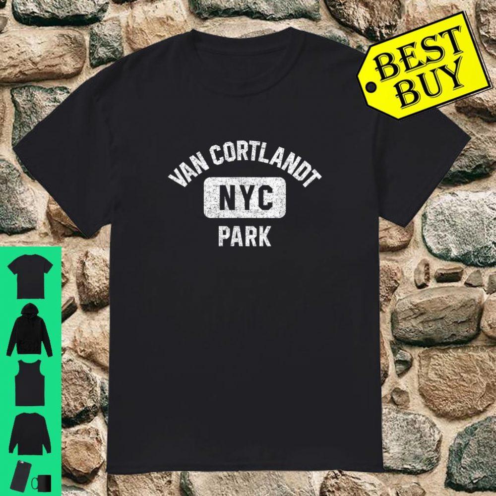 Van Cortlandt NYC Park Gym Style Distressed shirt