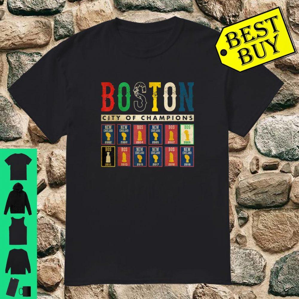 Vintage Boston Retro City Of Champions Sport shirt