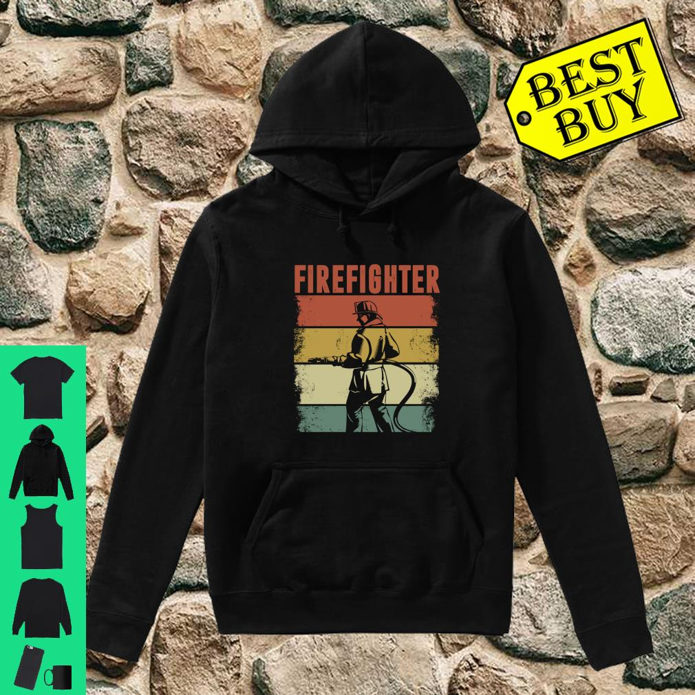 Vintage Retro Firefighter Apparel shirt hoodie