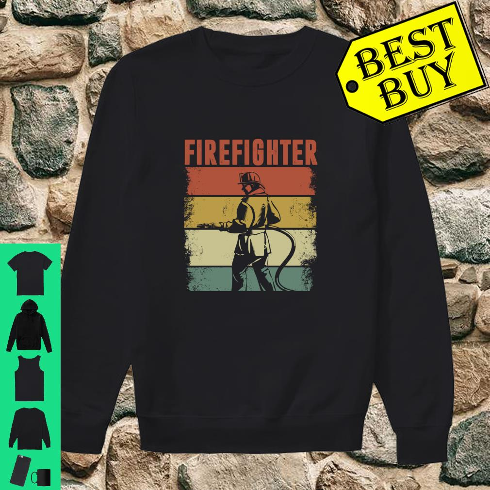 Vintage Retro Firefighter Apparel shirt sweater