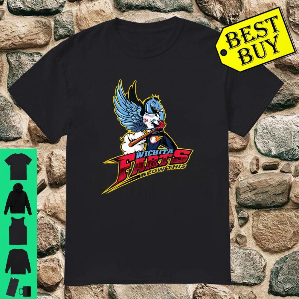 Wichita Farts Blow This Baseball shirt