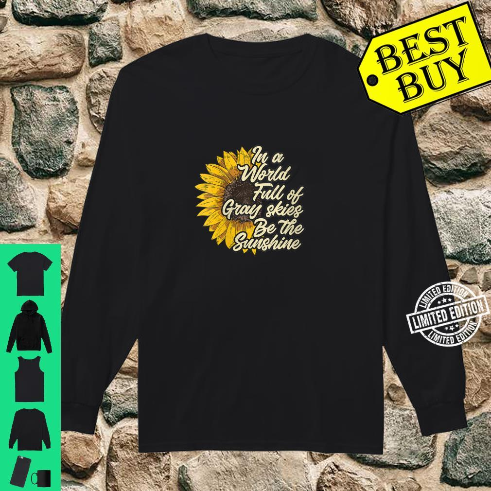 Womens Be the Sunshine casual chic Shirt long sleeved