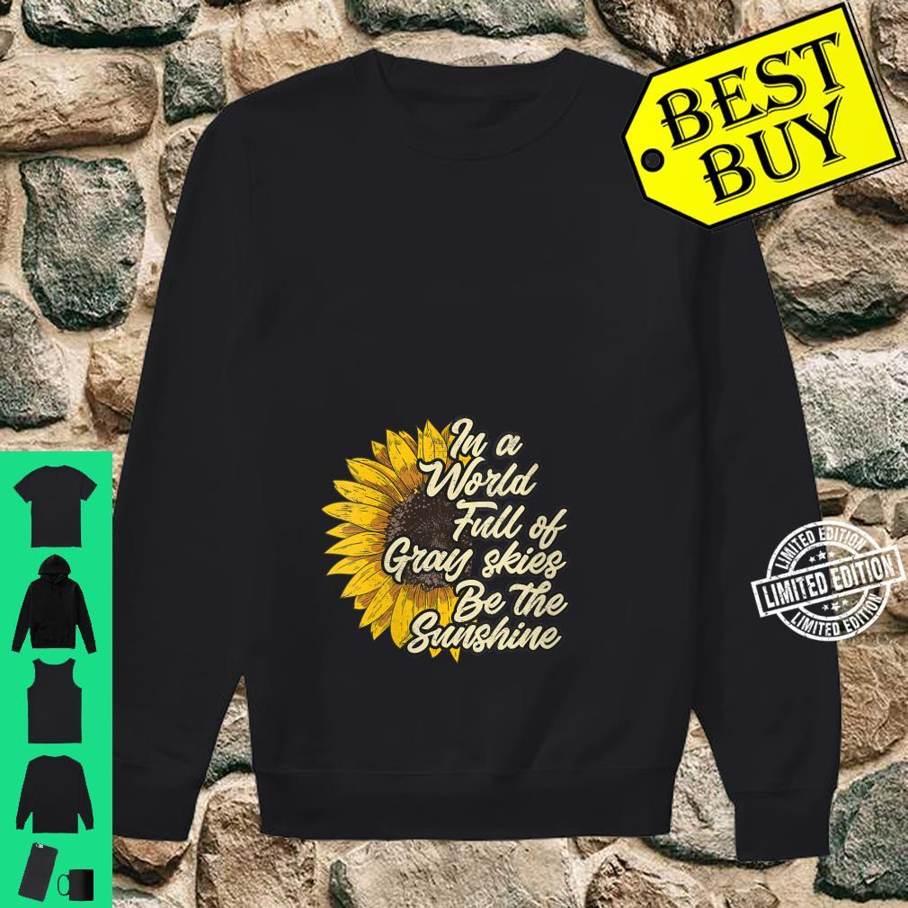 Womens Be the Sunshine casual chic Shirt sweater