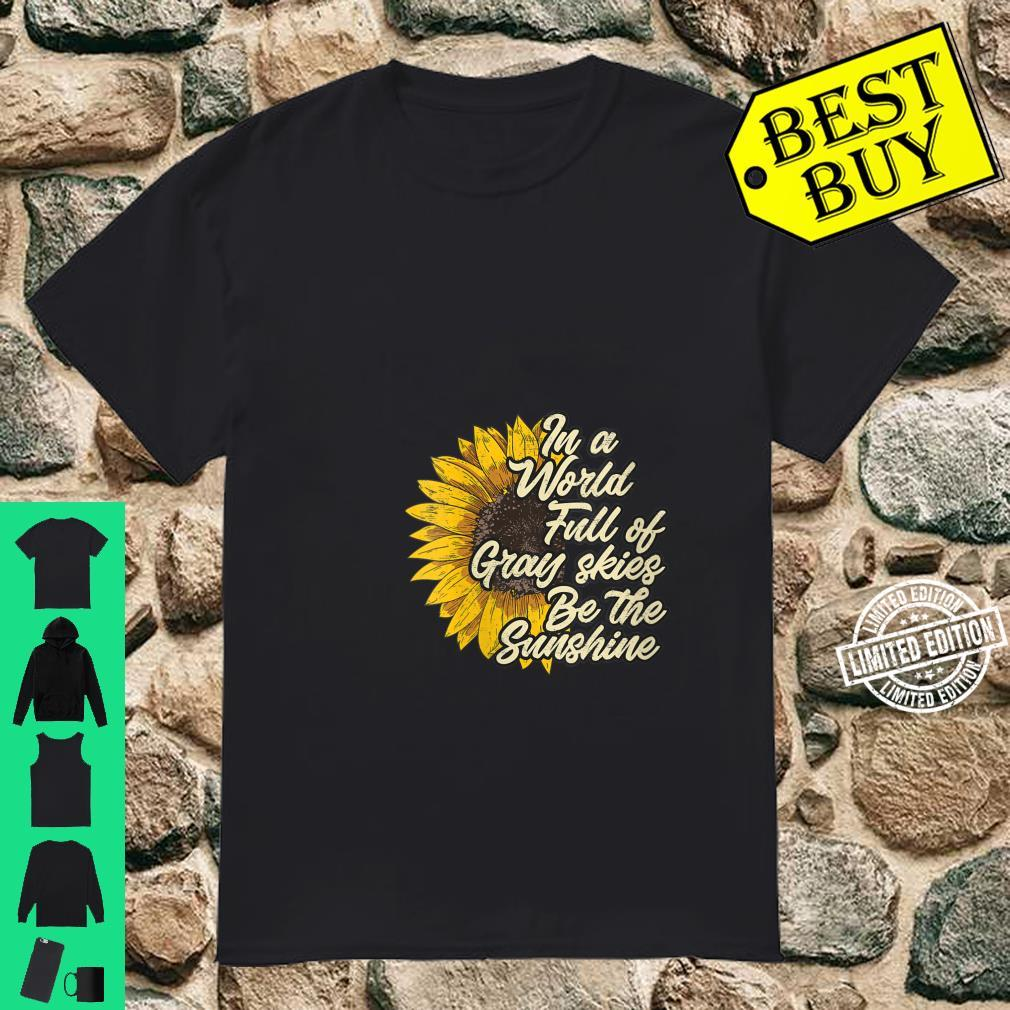 Womens Be the Sunshine casual chic Shirt