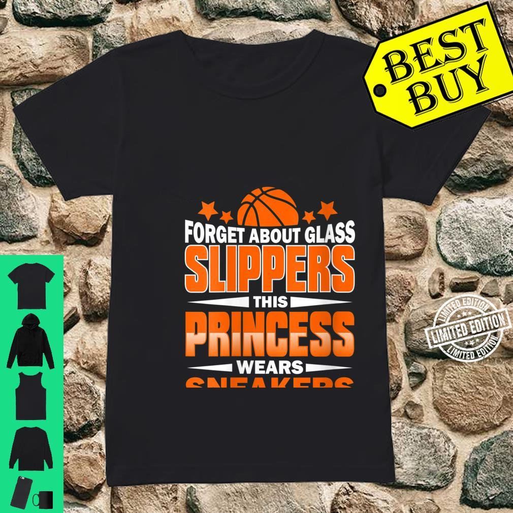 Womens Forget About Glass Slippers This Princess Wears Sneakers Shirt ladies tee