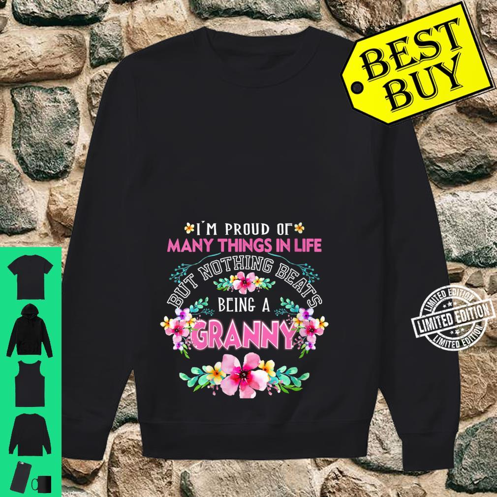 Womens I'm Proud Of Many Things But Nothing Beats Being A GRANNY Shirt sweater