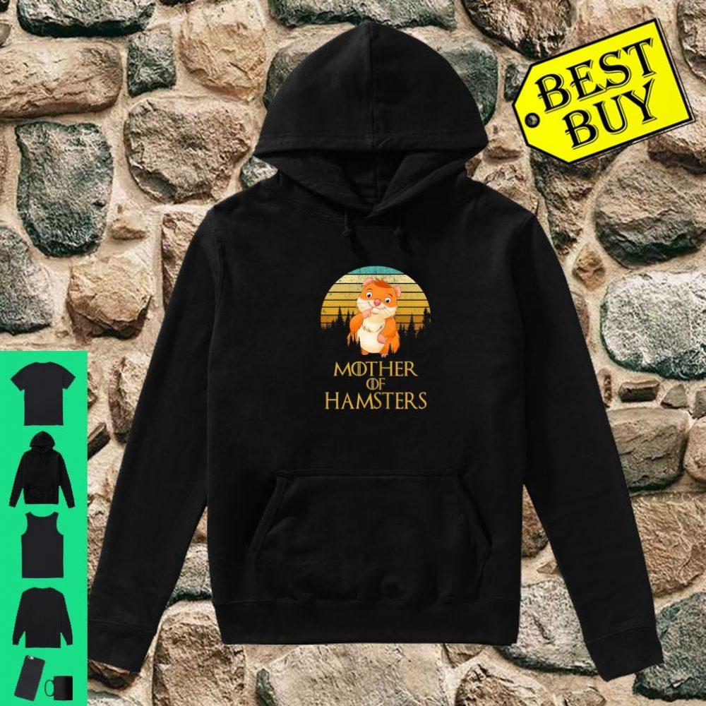 Womens Mother Of Hamsters shirt hoodie