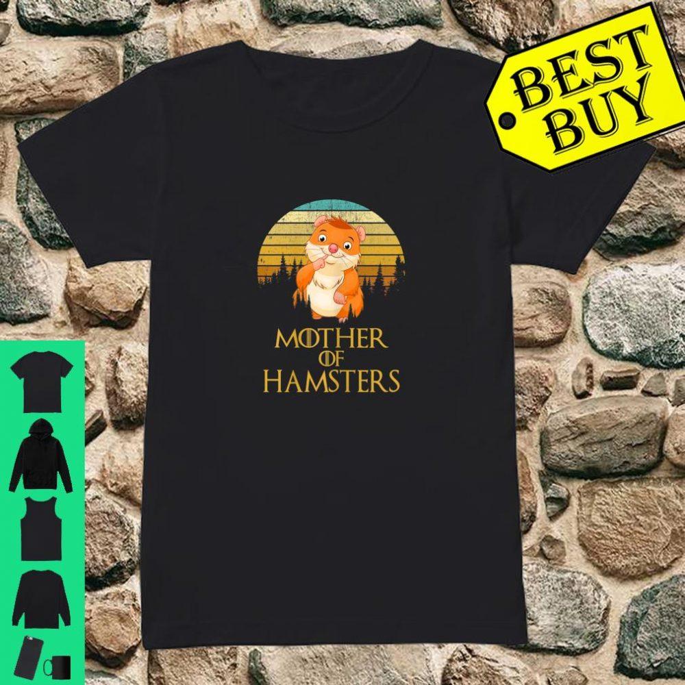 Womens Mother Of Hamsters shirt ladies tee