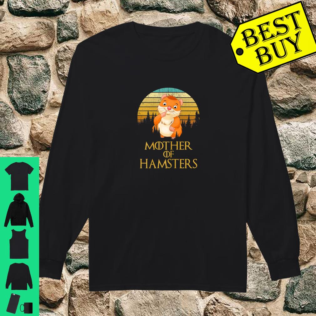 Womens Mother Of Hamsters shirt long sleeved